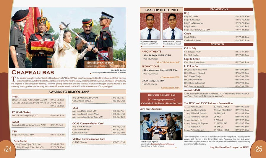 Indian military website